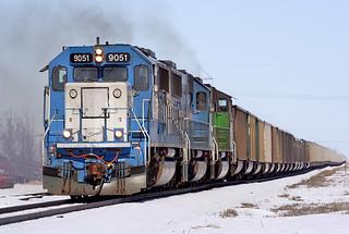 EMD 9051 Grand Forks 18 Mar 06