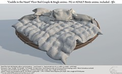 ".:Tm:.Creation ""Cuddle in the Heart"" Floor bed Sf11"