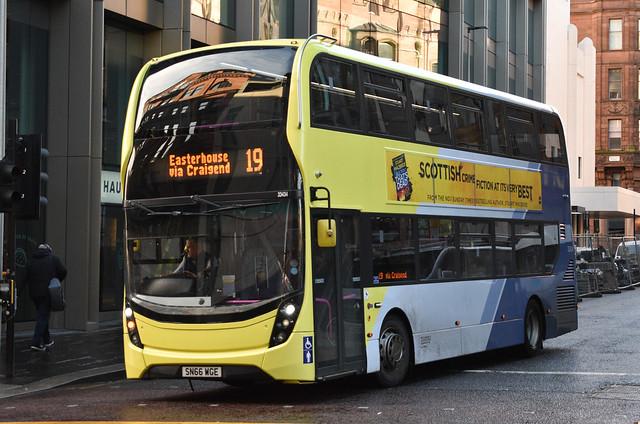 First Glasgow Alexander Dennis Enviro 400 MMC 33434