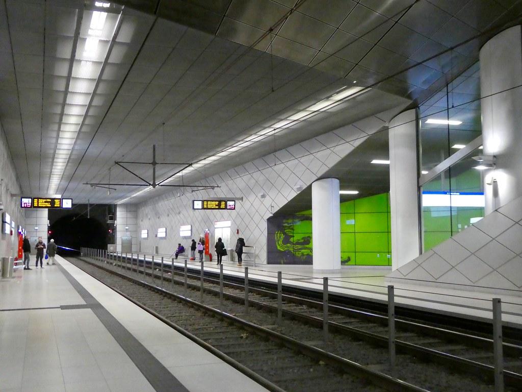 Adolf Graf Platz U Bahn station, Dusseldorf