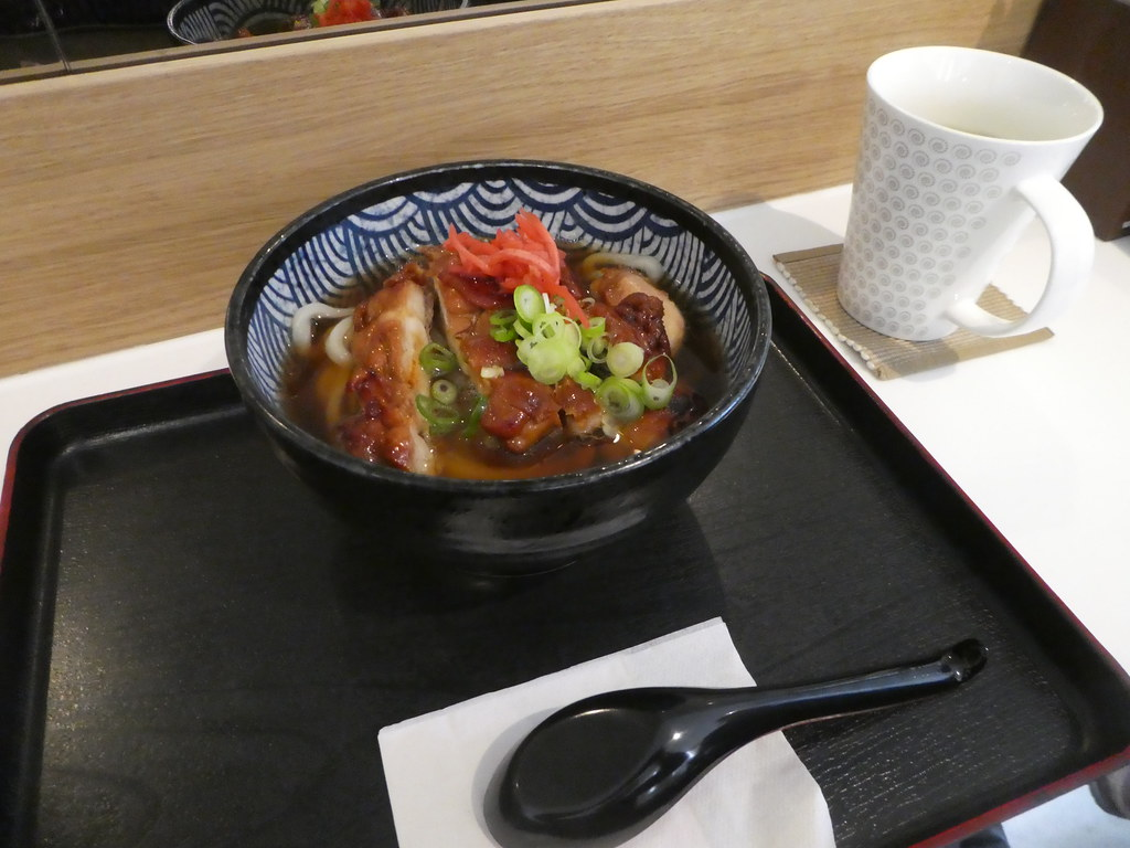 Chicken Ramen at Waraku Japanese Restaurant, Dusseldorf