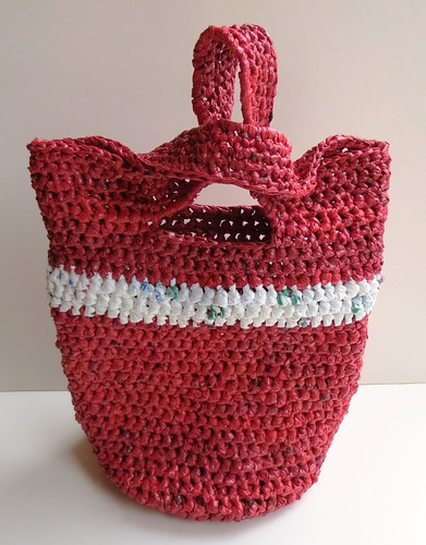 Japanese Knot Plarn Bag