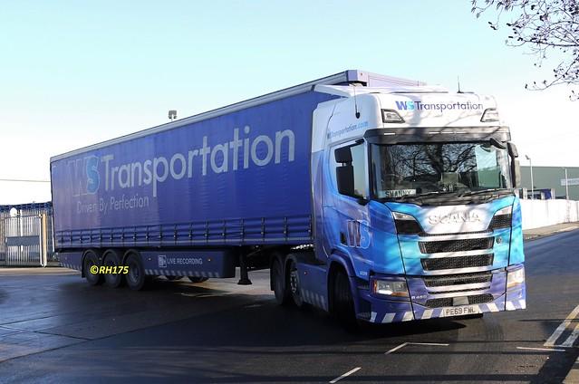 WS.Transportation 6X599 - Beckton