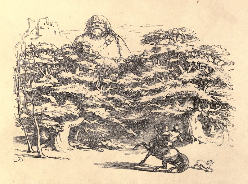 Richard Doyle - The Story of Jack and the Giant, 1851, Illustration 04