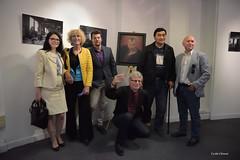 Vernissage de l'exposition Promka de Oles Kromplias