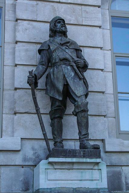 Joliet Statue, The Parliament Buildings, Quebec