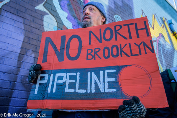 Community rally to stop North Brooklyn Pipeline