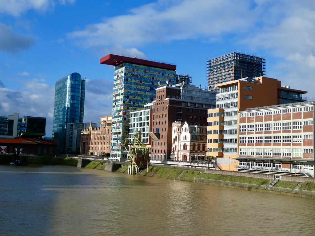 Medien Hafen, Dusseldorf
