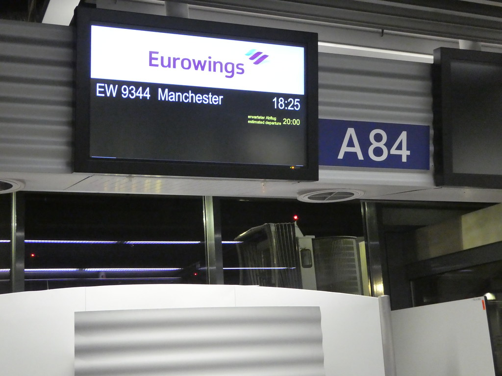 Eurowings Dusseldorf Airport