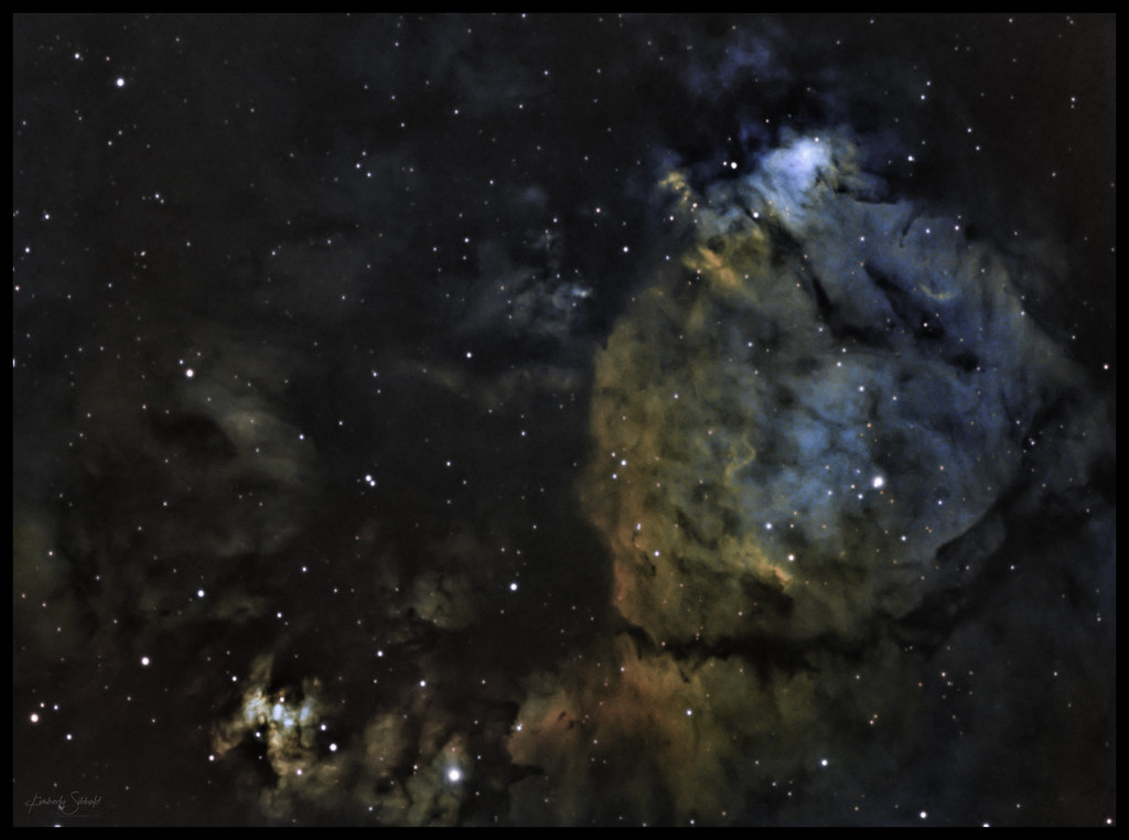 Fish Head Nebula IC1795