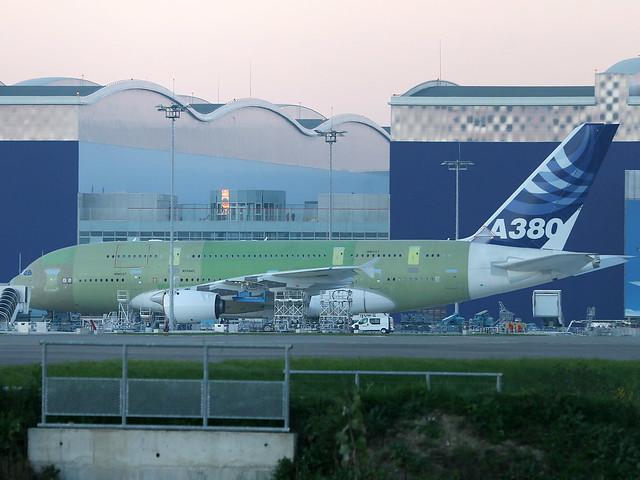 F-WWJB Airbus A380
