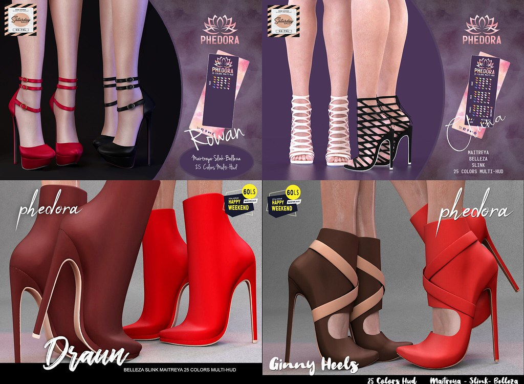 Phedora. for The Saturday Sale Official – SL & 60L$ Happy Weekend sale Feb 16-17 ♥
