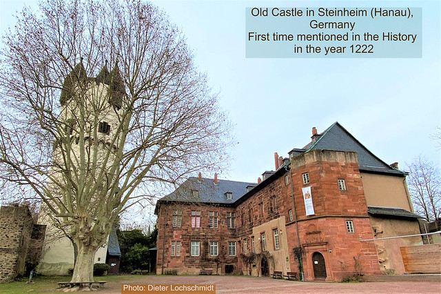 Old Castle and now Museum in Steinheim (Hanau) - Germany 2020