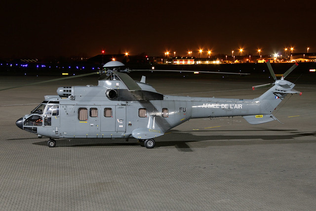 French AF AS332L1 Super Puma