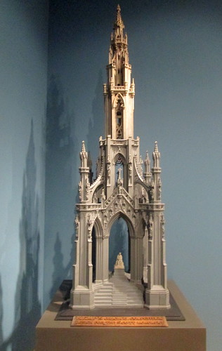 Model of Scott Monument
