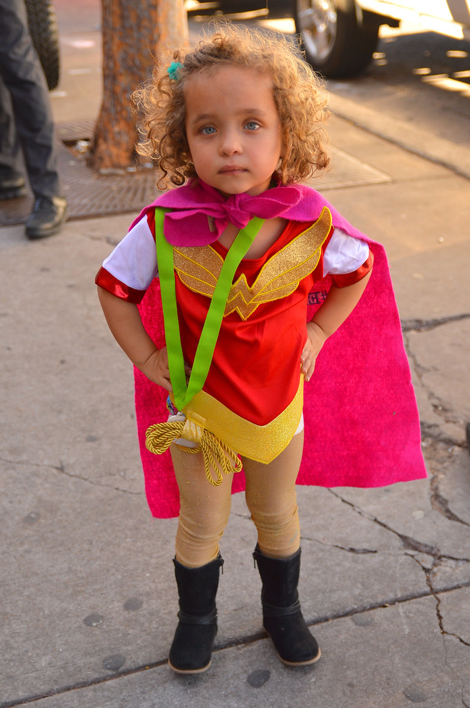 The young Wonder Woman