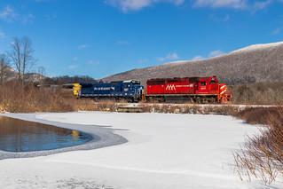 11R Detour on Vermont Railways