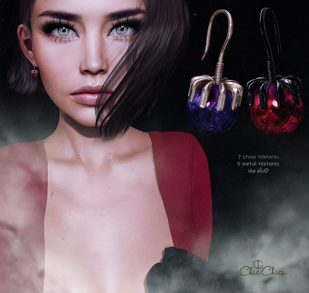 Petit Nancee earrings by ChicChica @ mainstore