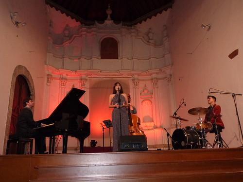 Concierto de  Myrian Latrece en el convento Santo Domingo