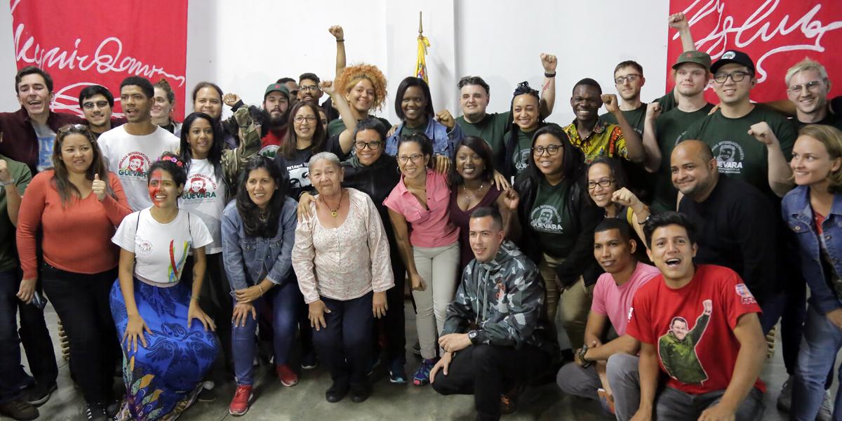 Se instala en Caracas tercera edición de la Brigada Internacionalista Che Guevara