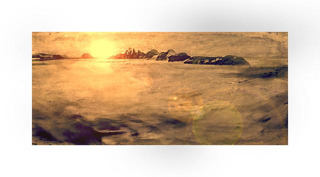 Seal Rock sunset.
