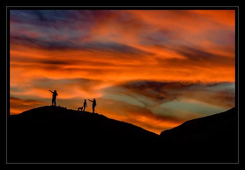 bernalheightspark sanfrancisco sunset