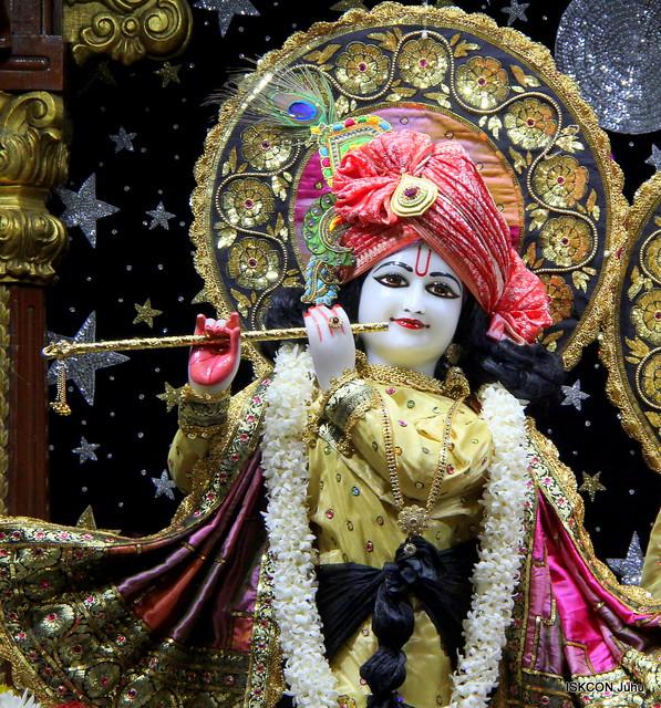 ISKCON Juhu Mangal Deity Darshan on 16th Feb 2020