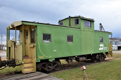 railroad caboose missouri burlingtonnorthernrailroad cameronmissouri