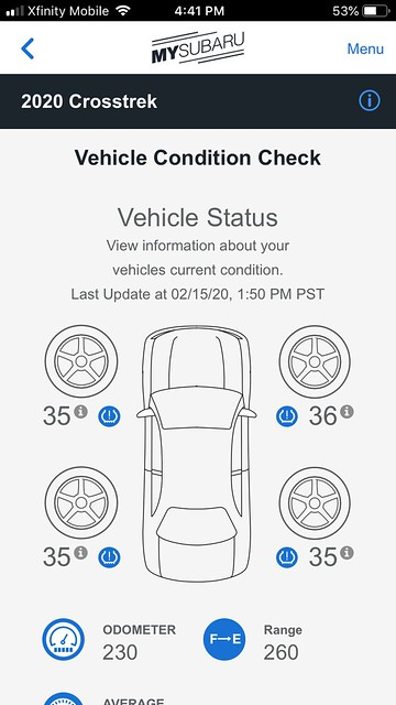Vehicle Condition Check