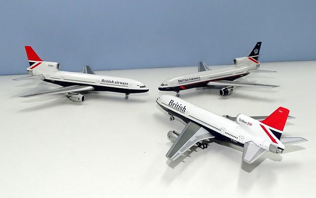 British Airways Lockheed L-1011 Tristar 1s and 200s