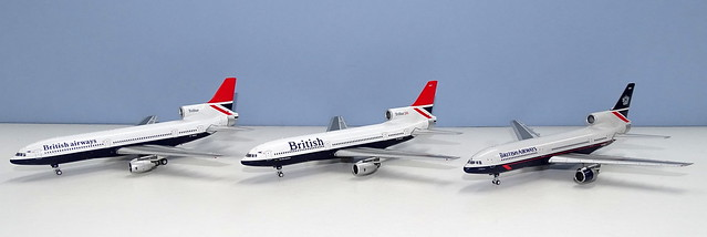 British Airways Lockheed L-1011 Tristar 1s and 200s