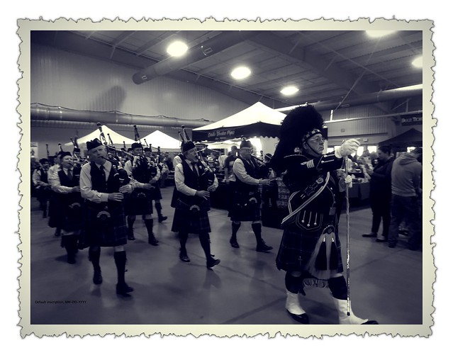 Knoxville Pipe and Drums at Asheville Celtic Festival