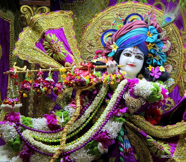ISKCON Juhu Sringar Deity Darshan on 16th Feb 2020