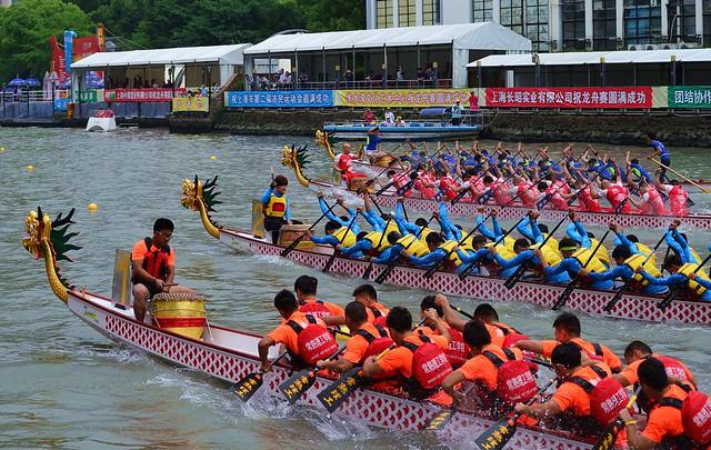 Shanghai - Dragon Boat Races 2016