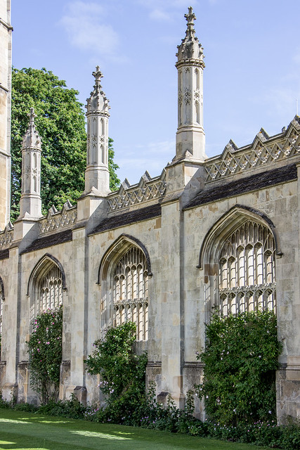 King's College Gate, Cambridge, England