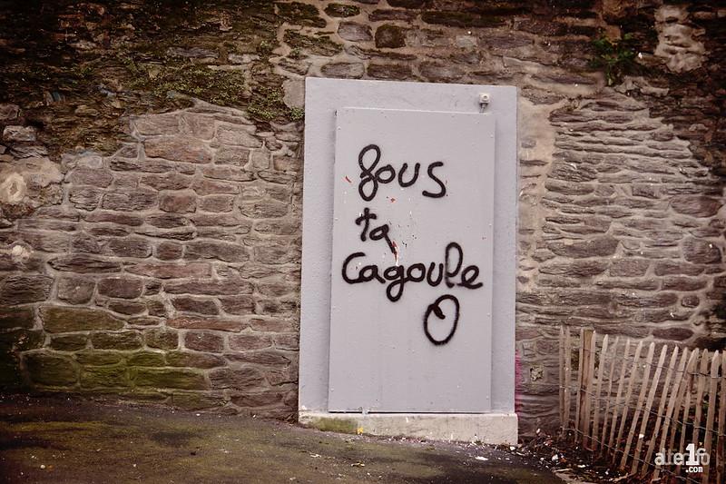 Rennes Street Art [Fous ta cagoule]