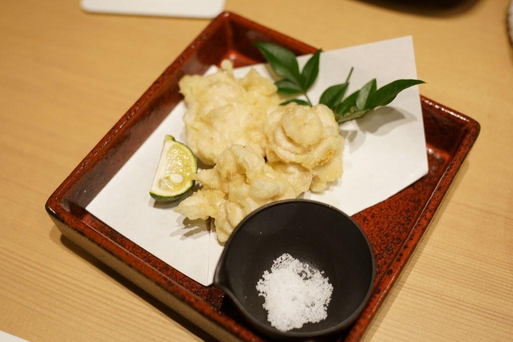 お魚総本家_白子の天ぷら