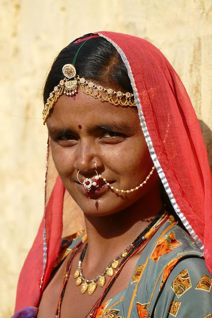 Jeune femme Meghwal