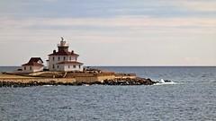 Watch Hill Lighthouse (Closer view)