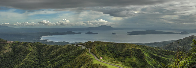 Taal Lake and Volcano, Philippines