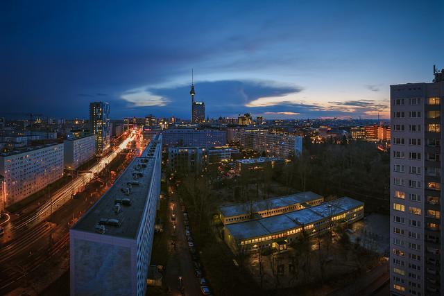Berlin Skyline - Blue Hour
