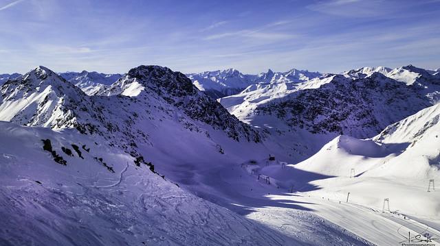 View to Hauptertäli - Davos - Graubünden - Switzerland