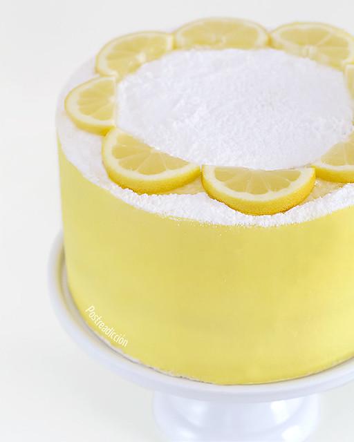 receta layer cake de limón