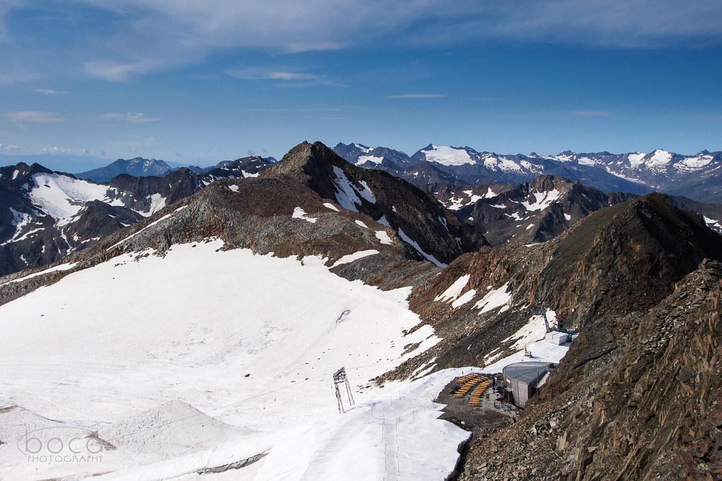 Stubaier Gletscher, Top of Tyrol