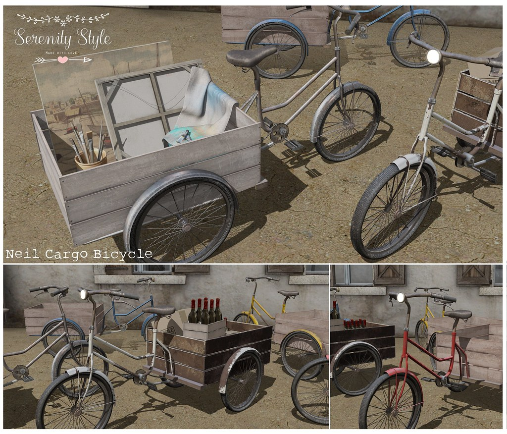 Serenity Style-Neil Cargo Bicycle Ad