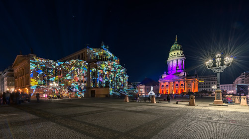 Gendarmenmarkt - Festival of Lights 2012