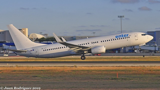 OM-GTF - Enter Air - Boeing 737-86J(WL) - PMI/LEPA