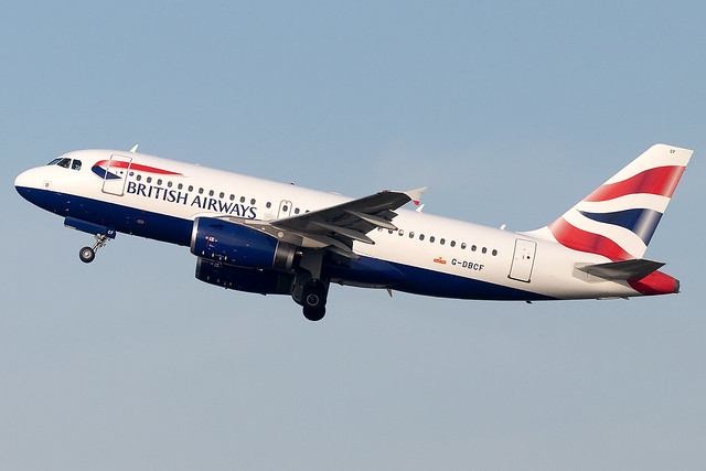 G-DBCF British Airways A319 London Heathrow Airport