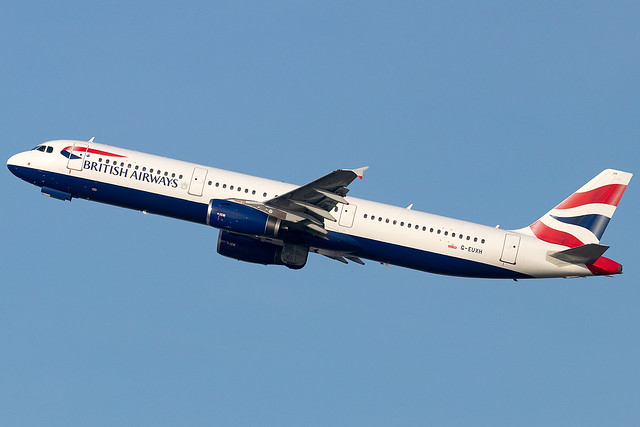 G-EUXH British Airways A321 London Heathrow Airport