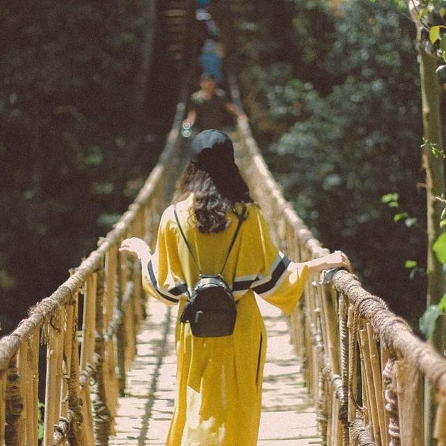 Phượt Hot - Những cây cầu dây treo giữa lòng Đà Lạt (10)
